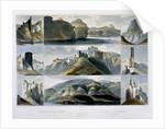 Remarkable Hills on the Upper Missouri by Friedrich Salathe