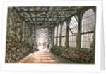 Corridor of a conservatory by Joseph Constantine Stadler