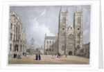 Westminster Abbey and Hospital by Thomas Shotter Boys