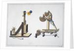 Siege catapults by Friedrich Martin von Reibisch