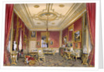 The Queen's private sitting room by James Baker Pyne