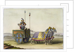 Ancient Chinese war chariot by Giovanni Bigatti