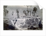 The loop at Agony Point at Tindharia on the Darjeeling Himalayan Railway by Anonymous