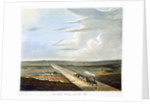 View of the Railway across Chat Moss by Henry Pyall