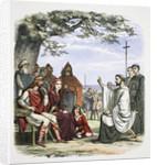 Augustine preaching before King Ethelbert by James William Edmund Doyle