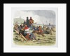 The English wait for the French at the Battle of Crecy by James William Edmund Doyle