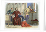 Queen Anne intercedes with Gloucester and Arundel for Sir Simon de Burley by James William Edmund Doyle