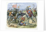 Henry V of England attacked by the Duke of Alencon at the Battle of Agincourt by James William Edmund Doyle