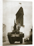 British tank 'Britannia' on Fifth Avenue by Anonymous