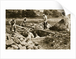 Digging mass graves behind the German lines by Anonymous