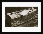 Bronze casket containing the Italian Unknown Soldier by Anonymous