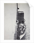 View from the 'Carpathia' of a lifeboat from the 'Titanic' brought alongside by Anonymous