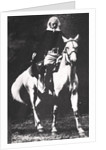 Buffalo Bill towards the end of his Wild West Show days by Anonymous