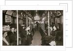 Hudson River subway train by Edwin Levick