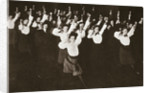 YWCA members exercising by Anonymous