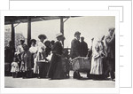 Immigrants arriving at Ellis Island by Anonymous