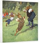 Sports lesson by Fritz Kock-Gotha