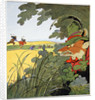 Running home by Fritz Kock-Gotha