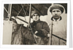 Mrs W Buller, first woman to fly professionally by S and G
