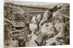 A view of a  British trench by Anonymous