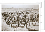 Australian machine-gunners returning from the trenches by Anonymous