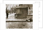 An onlooker observes a dead man left in the streets by Anonymous