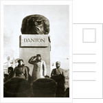 Lenin unveiling the Danton monument by Anonymous