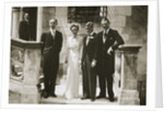 The wedding party at the marriage of the Duchess and Duke of Windsor by Anonymous