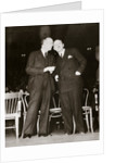 American Communist leaders William Foster and Earl Browder by Anonymous