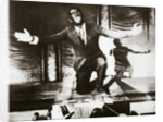 Al Jolson, American singer, in the final scene from the film 'The Jazz Singer' by Anonymous