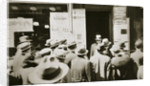 Employment office, on Sixth Avenue near Forty-third Street, New York by Anonymous