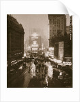 Winter evening on Times Square and Broadway by Anonymous