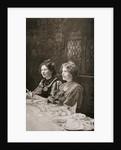 Christabel Pankhurst and Annie Kenney, British suffragettes by GK Jones