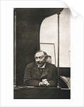 Herbert Gladstone in the witness box at the trial of Emmeline Pankhurst and others by Anonymous