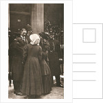 The 'Human Letters' dispatched by Jessie Kenney to Mr Asquith at 10 Downing Street by Anonymous