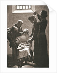 Suffragette being force fed with the nasal tube in Holloway Prison by Anonymous