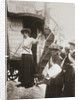 Barbara Ayrton, British suffragette, campaigning on the Votes for Women bus by Anonymous