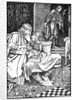 King Canute and Earl Ulf quarrel over chess by Morris Meredith Williams