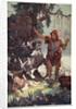 The Shepherd finds the babe Semiramus by Ernest Wellcousins