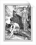 Calypso Takes Pity on Ulysses by Henry Justice Ford