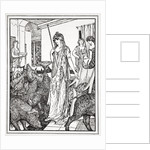Circe sends the Swine (The Companions of Ulysses) to the Styes by Henry Justice Ford