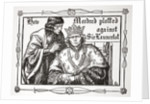 How Mordred plotted against Sir Launcelot by Dora Curtis