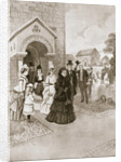 Her Majesty at Whippingham Church by A Forestier