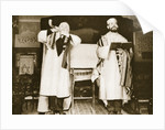 Two officials of an East End synagogue by Anonymous