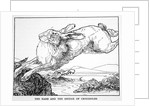 The Hare and the Bridge of Crocodiles by Anonymous