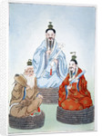 The Taoist Triad by Anonymous
