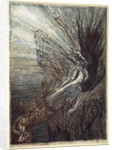 The frolic of the Rhine-Maidens by Arthur Rackham
