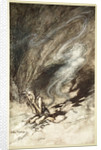 Mime writhes under the lashes he receives by Arthur Rackham