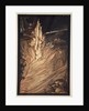 Appear, flickering fire, Encircle the rock with thy flame! Loge! Loge! Appear! by Arthur Rackham