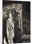 O wife betrayed I will avenge they trust deceived! by Arthur Rackham